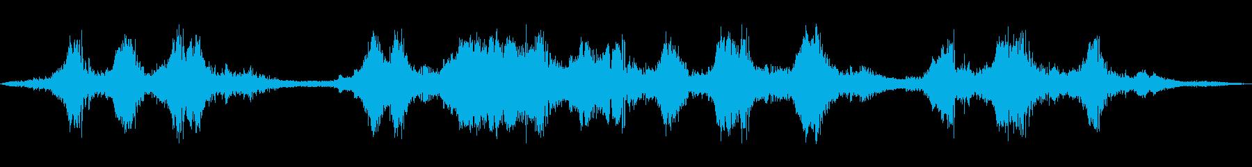 インディレースカー:コーナー、カー...の再生済みの波形
