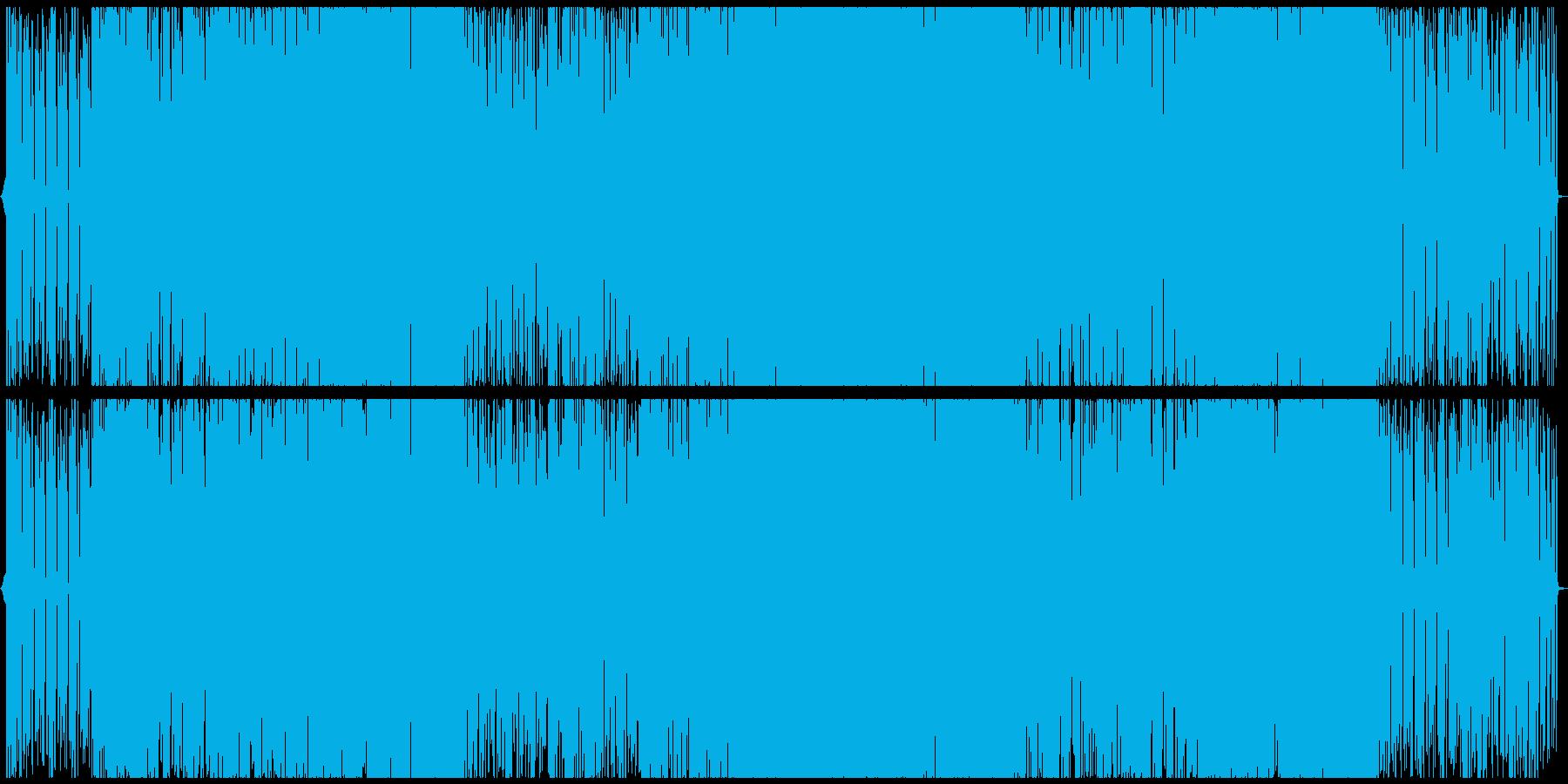 近未来的な女性ボーカルのエレクトロポップの再生済みの波形