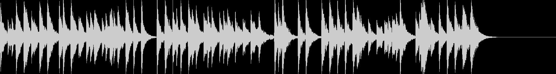 「スカボローフェア」オルゴールbpm86の未再生の波形