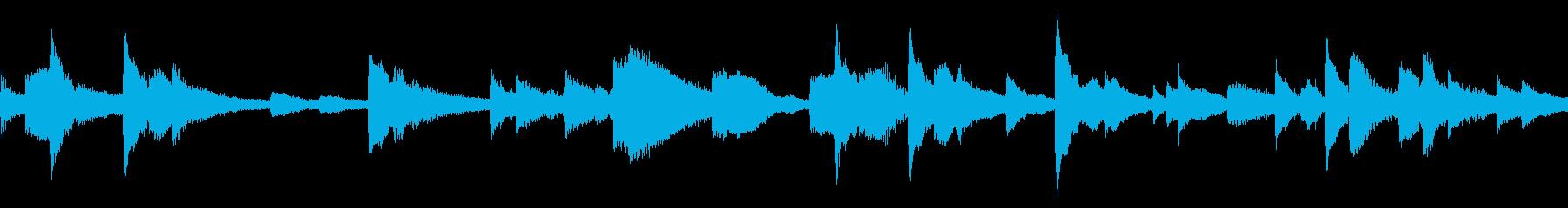 繊細な弦とたまに繊細なオーボエのリ...の再生済みの波形