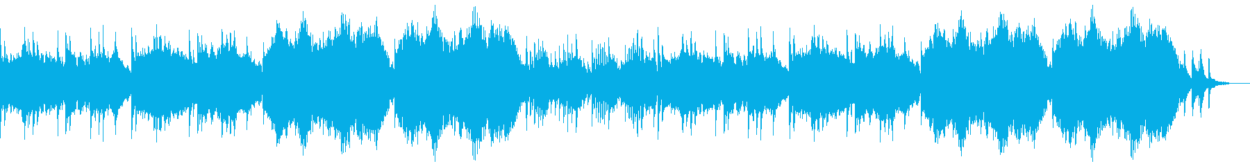 静かに盛り上げる感動的なシネマティクシンの再生済みの波形