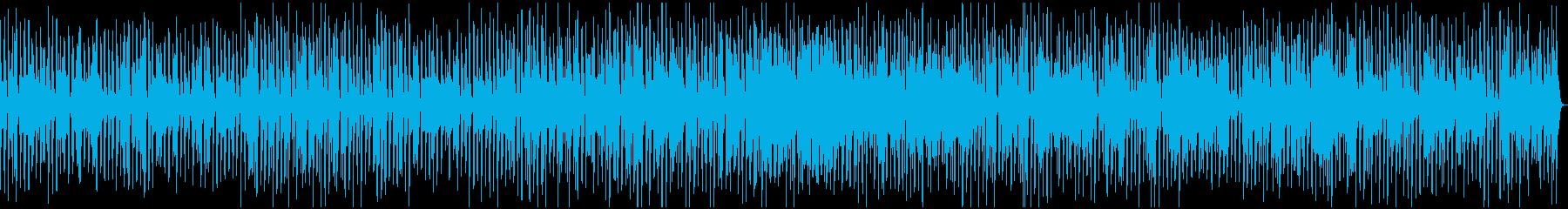 ラテン風に怪しく奏でるジャズ・タンゴの再生済みの波形