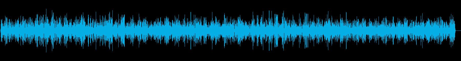 ザワザワ(工場など)の再生済みの波形