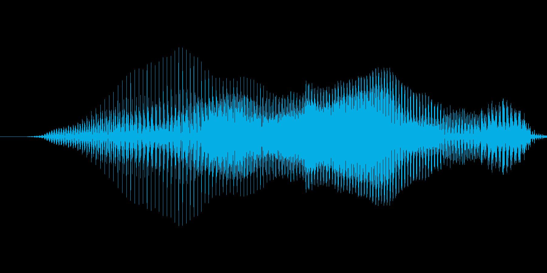 やあっ!【攻撃、掛け声】の再生済みの波形