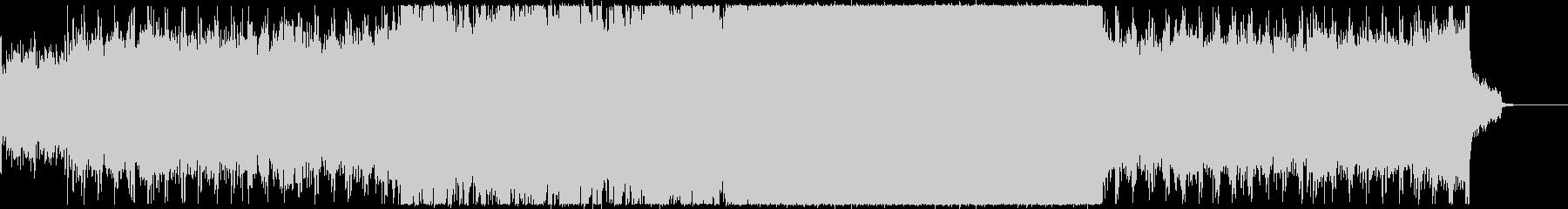 BALLADアメリカンロックバラードの未再生の波形