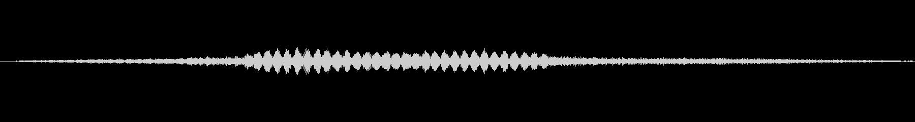 コントロールパネルプロンプトスペー...の未再生の波形