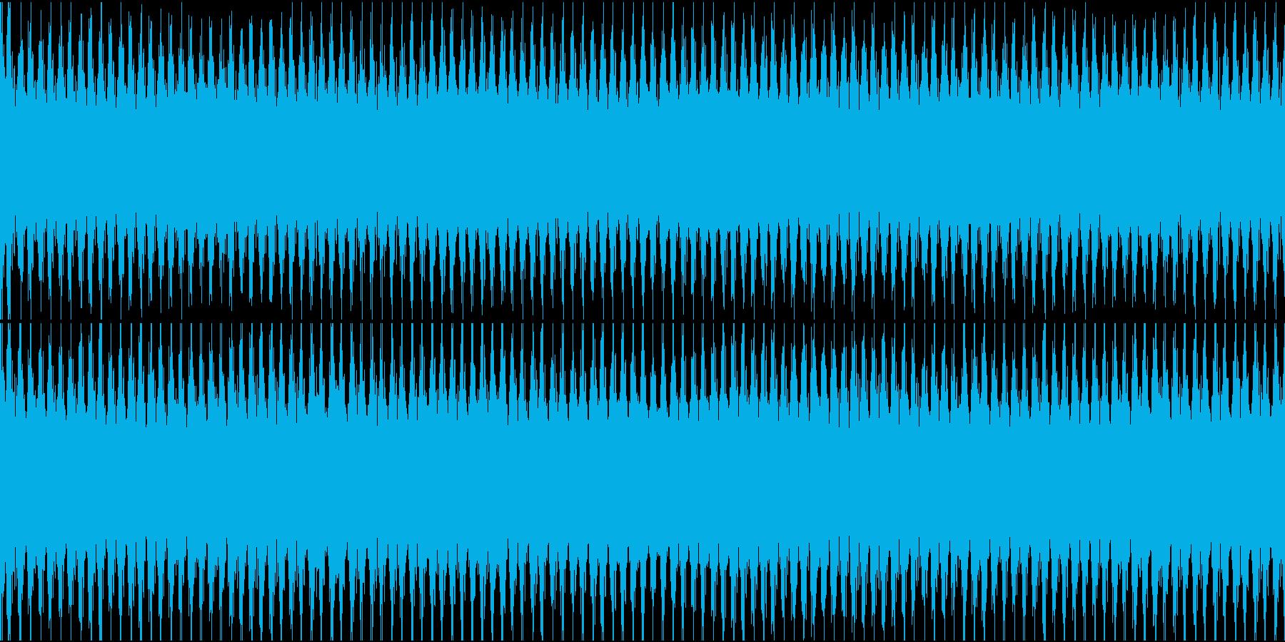 レーザー、カウンター演出などの再生済みの波形