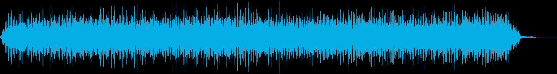 【アンビエント】ドローン_52 実験音の再生済みの波形
