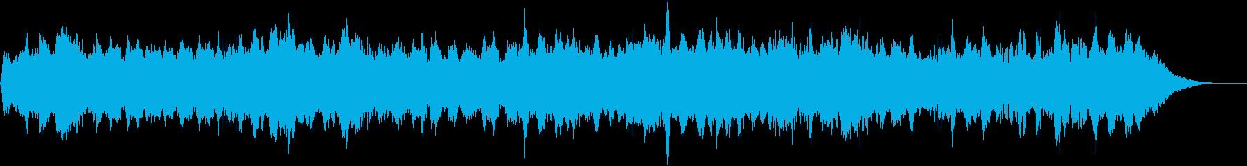 逃走のテーマ30秒BGMの再生済みの波形