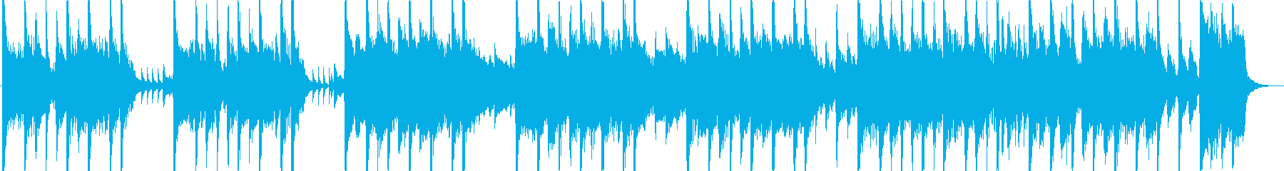 アコースティックギターとエレクトリ...の再生済みの波形