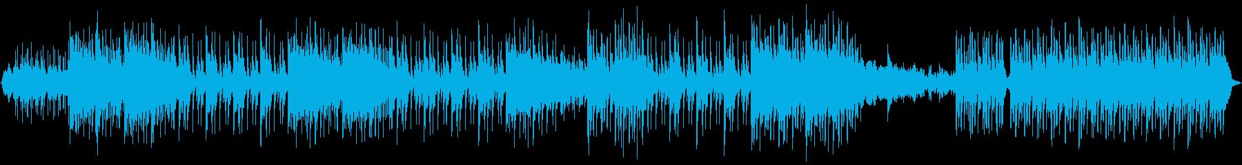 水の景色に合うような楽曲になっていますの再生済みの波形