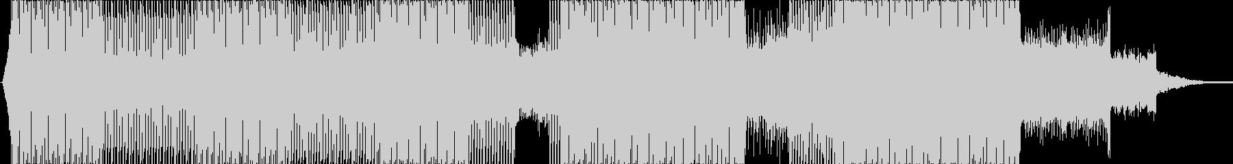 リズミカルなエレクトロ の未再生の波形