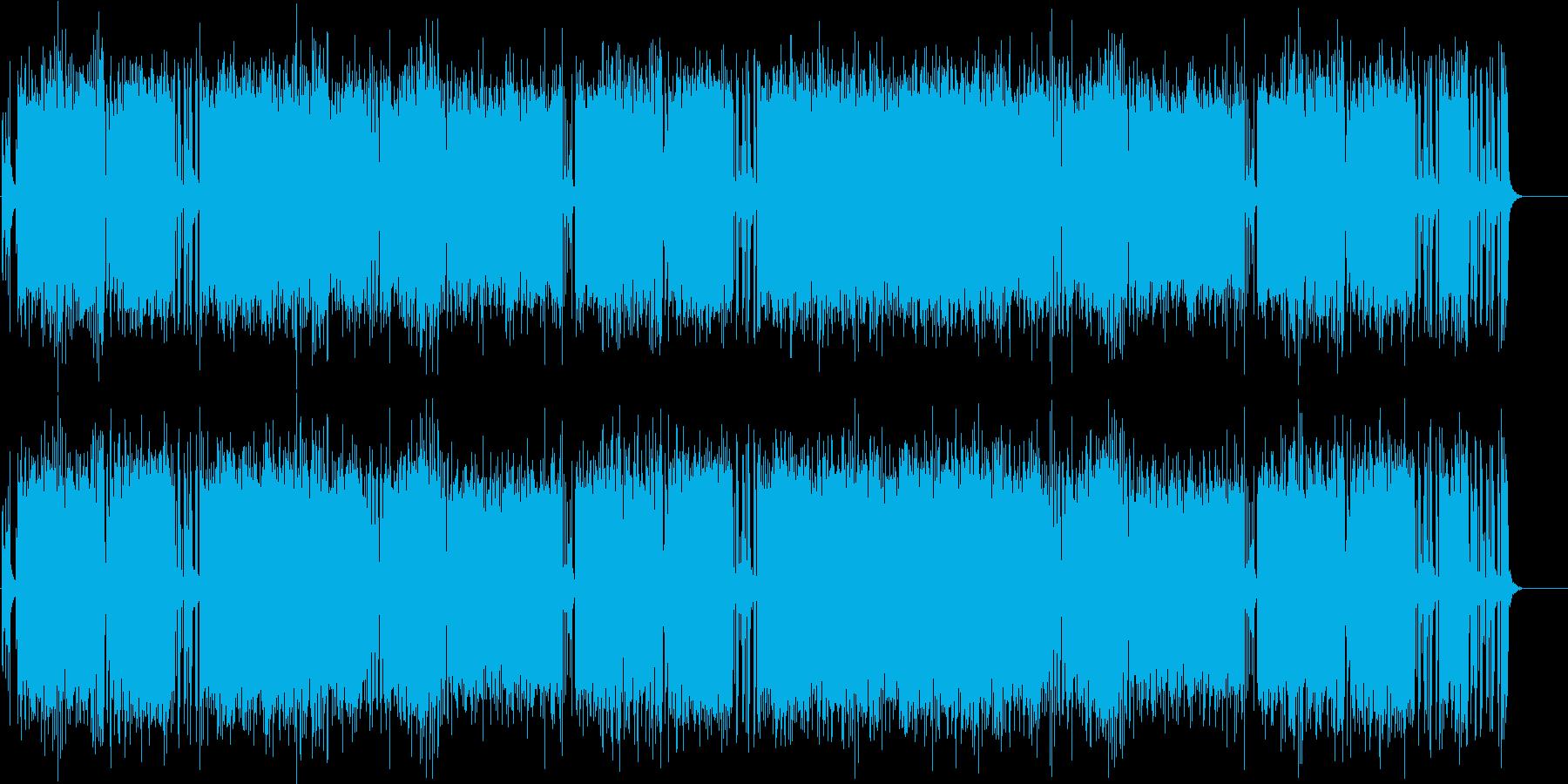 スピード 激しい スリル 挑戦 闘志 男の再生済みの波形