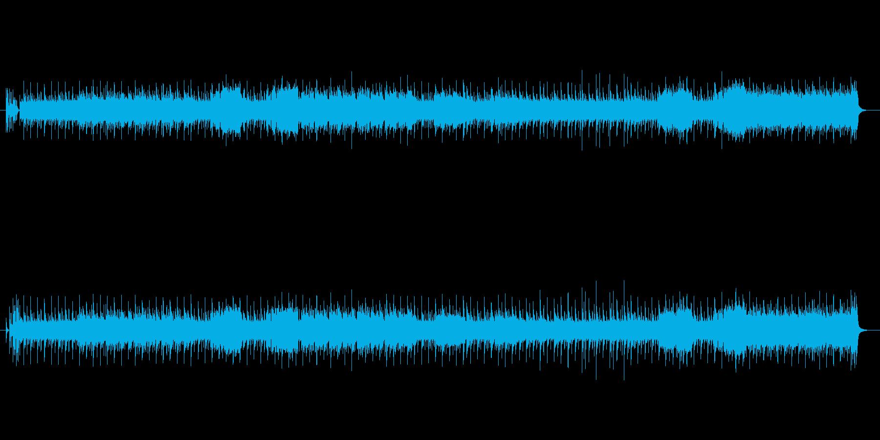 コミカルなテクノ・ポップ封の再生済みの波形