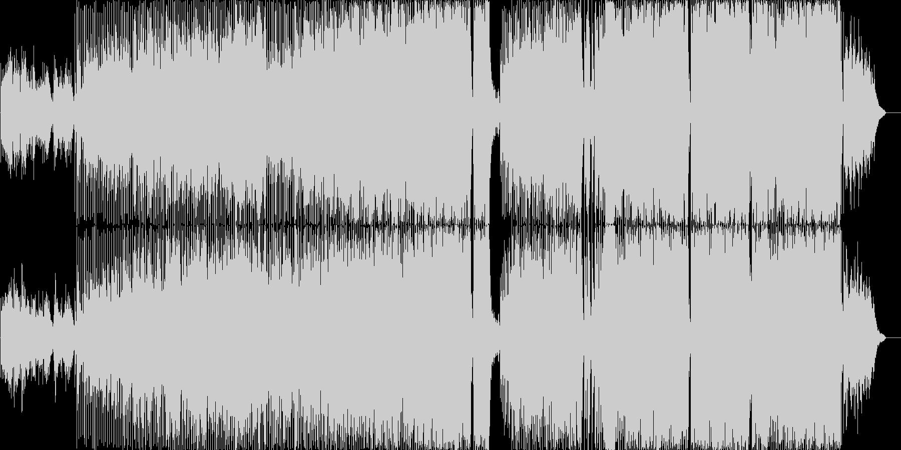 ポップな背景の未再生の波形