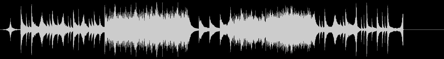 ピアノとストリングスのエモいバラードの未再生の波形