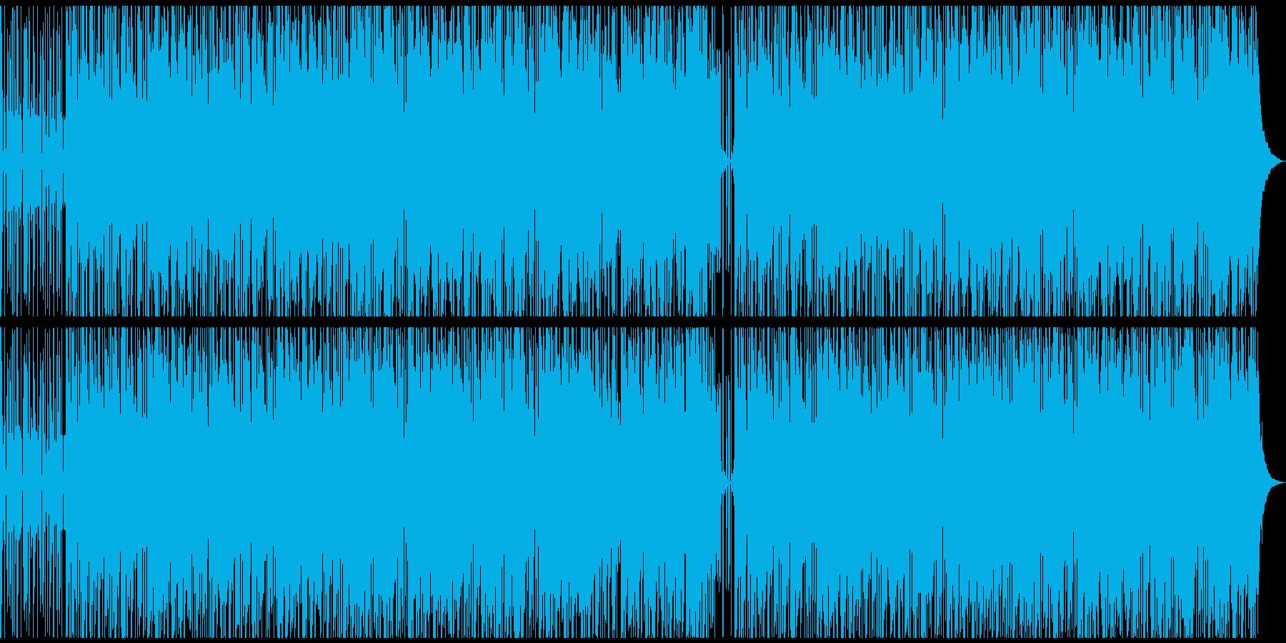 【雨音なし】心地良いヒーリングポップの再生済みの波形