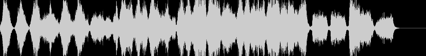 バラード・ストリングス・感動的の未再生の波形