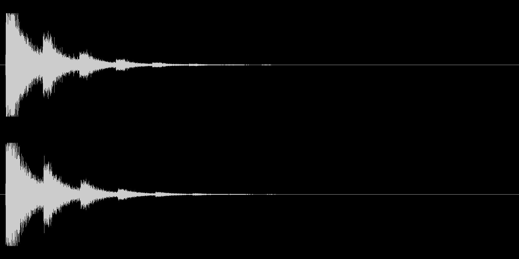 レーザー音-91-2の未再生の波形