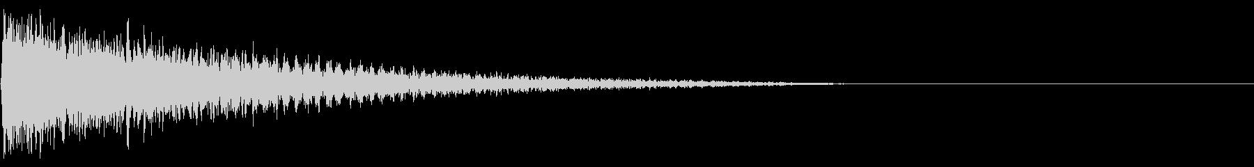 ガーン(がっかり、ショック)04の未再生の波形