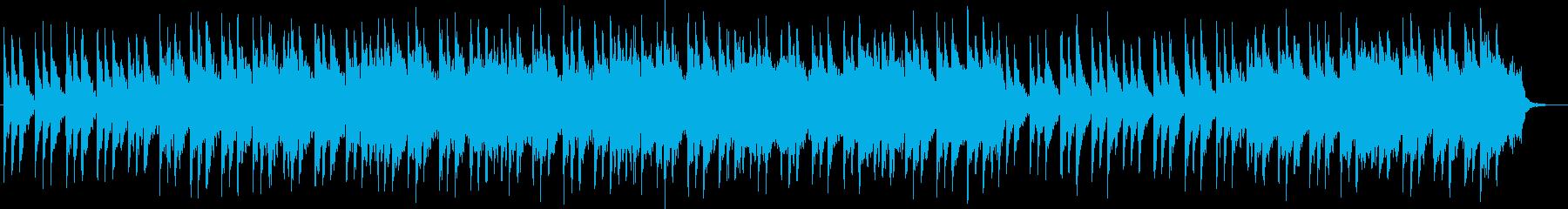 クリスマスイブに響き渡る清らかなベルの音の再生済みの波形