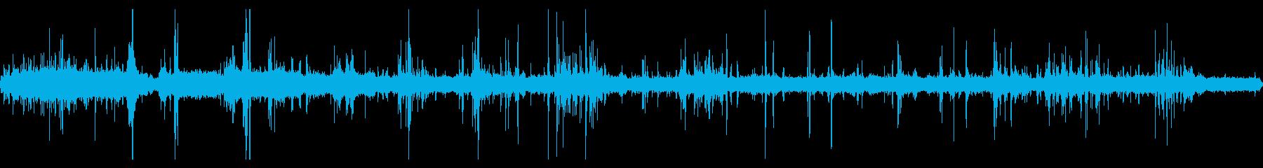重機が建物を解体している音 16の再生済みの波形