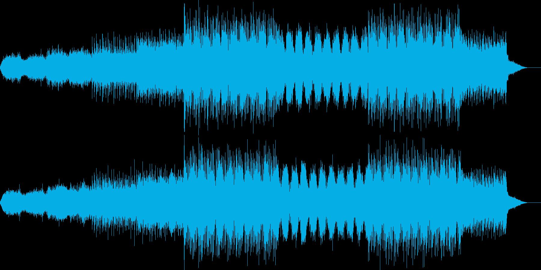 映画音楽、荘厳重厚、映像向け-15の再生済みの波形