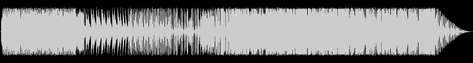 切ないピアノポップの未再生の波形