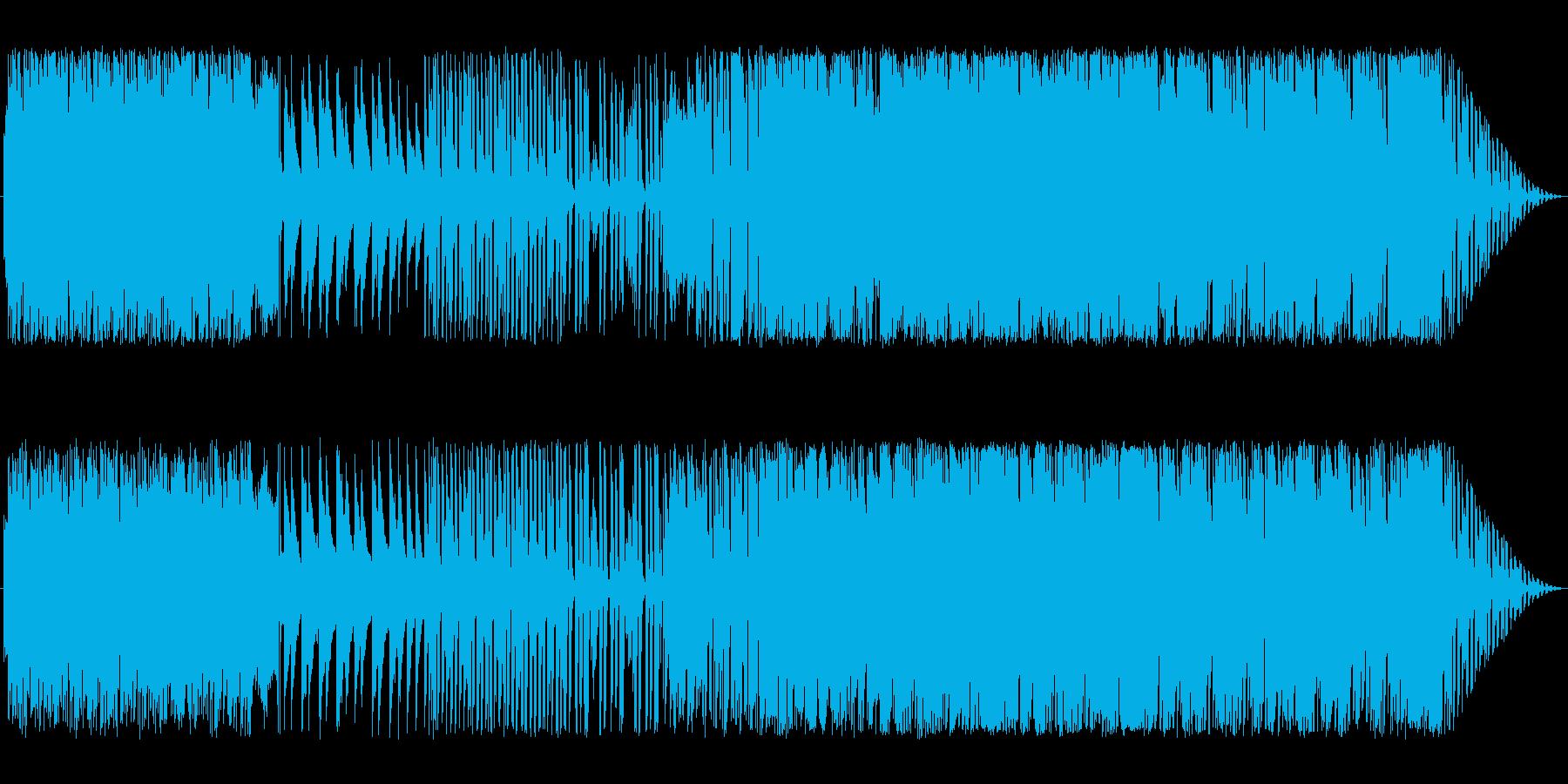 切ないピアノポップの再生済みの波形