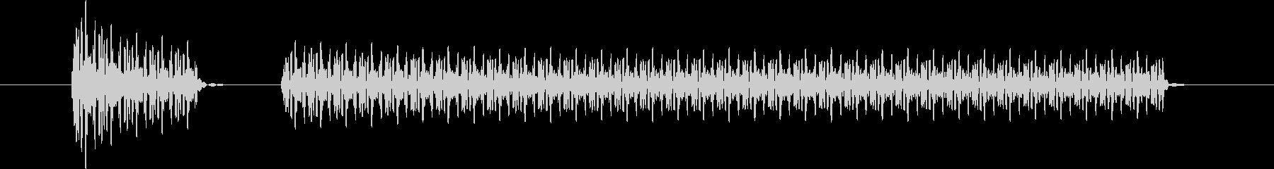 ブブー②(クイズ・不正解・ブザー音)の未再生の波形