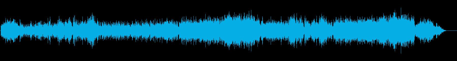 望郷の懐かしい和風ほのぼの歌謡の再生済みの波形