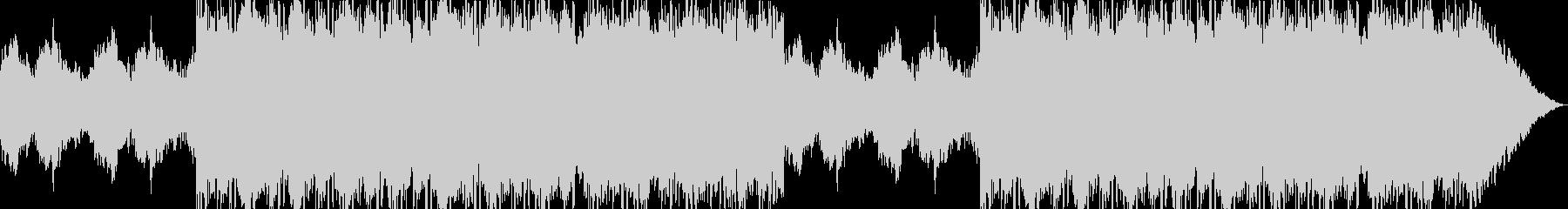 クール・ピアノ・HIP HOPの未再生の波形
