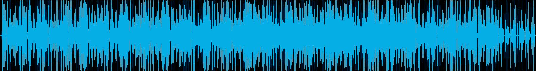 横ノリな不思議ちゃん曲の再生済みの波形