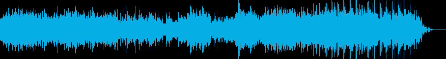 映像のためのアンビエントポップー木星の再生済みの波形