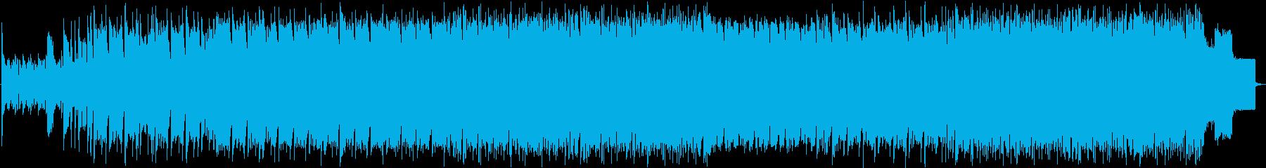 インダストリアルなインスト曲です。の再生済みの波形