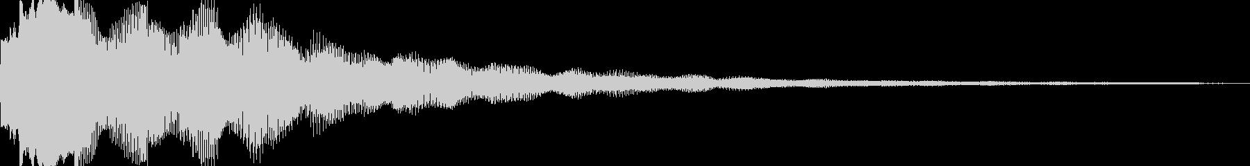 シャリーン、シャキーンの未再生の波形