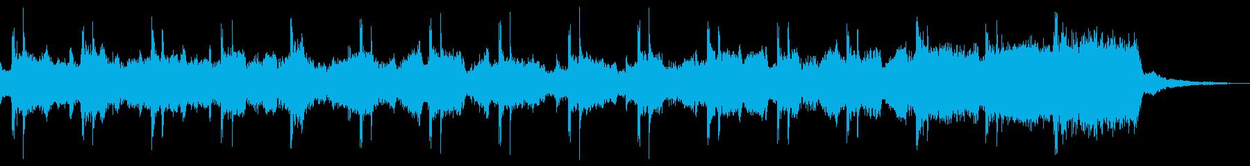 グリーンスリーブス サビ ストリングスの再生済みの波形