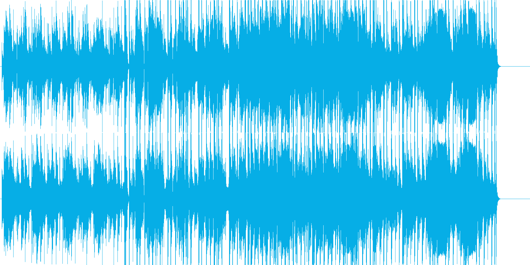 toueiの再生済みの波形