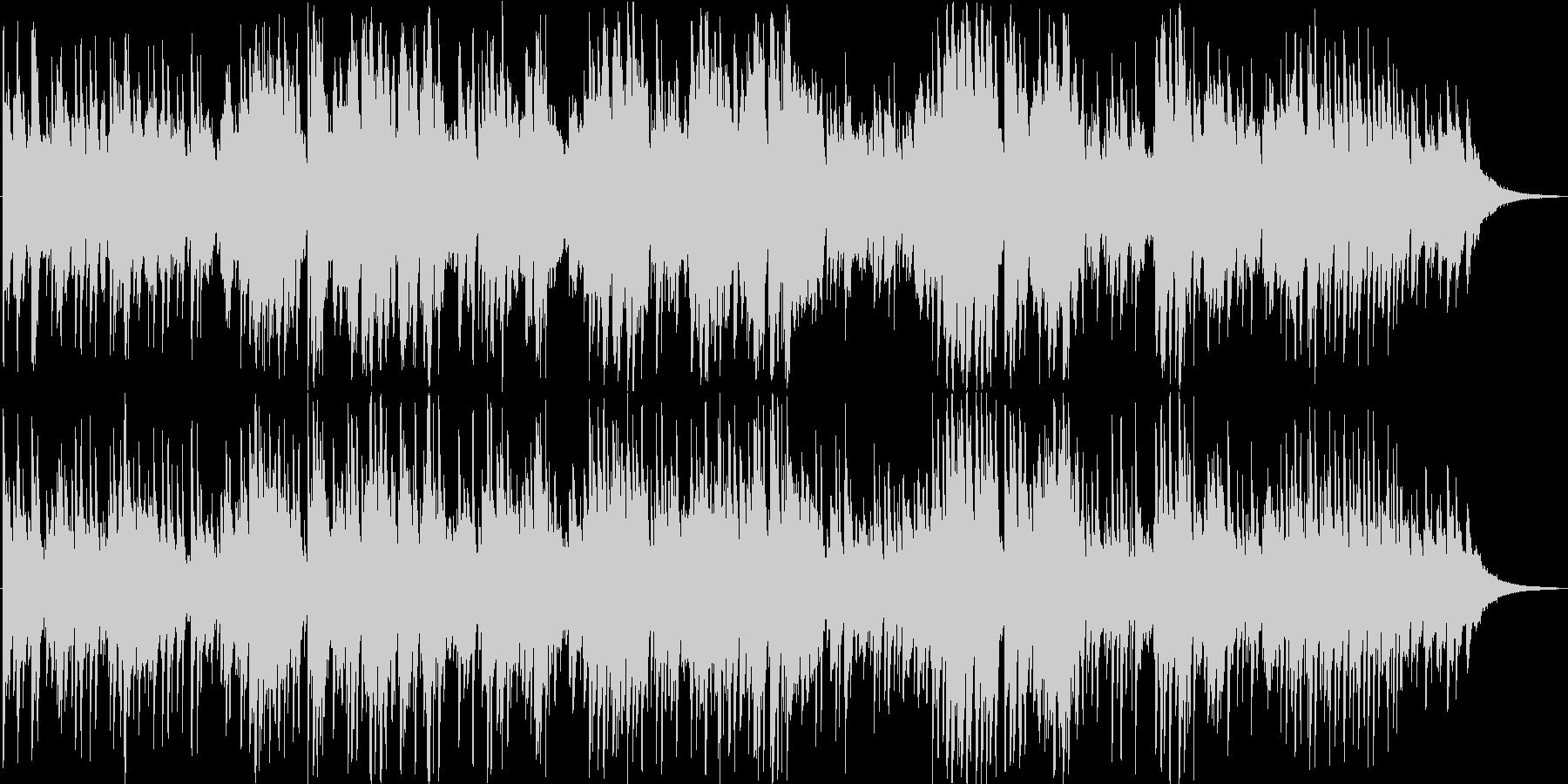 ピアノインスト曲です。いろんな場面で想…の未再生の波形