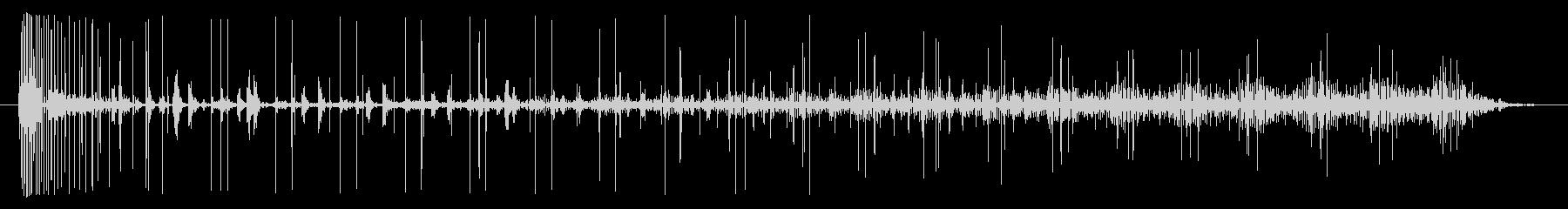 ノイズ 途切れるノイズスウェル01の未再生の波形