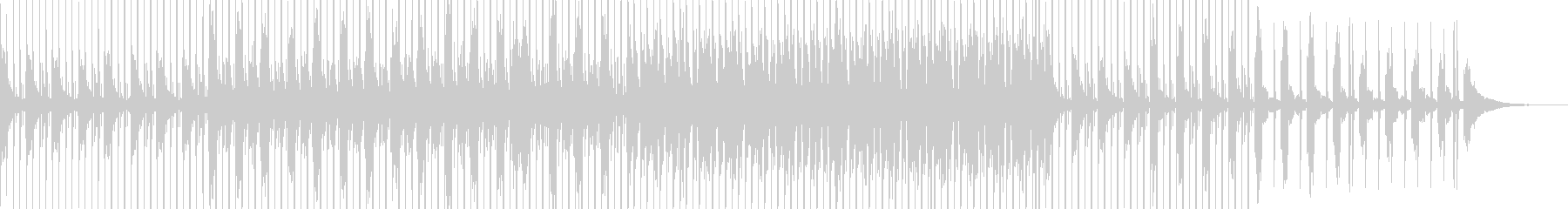 Positive Pop の未再生の波形