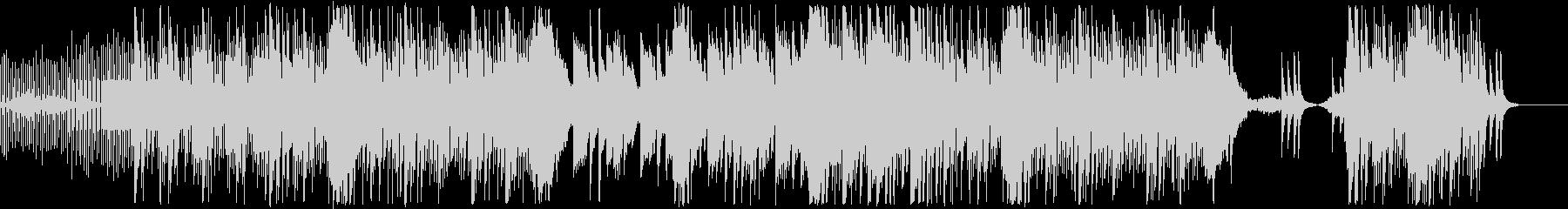 エレガントなピアノ&EDM風BGMの未再生の波形