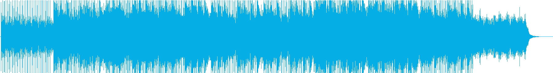 美しいギターピアノのさわやかコーポレートの再生済みの波形