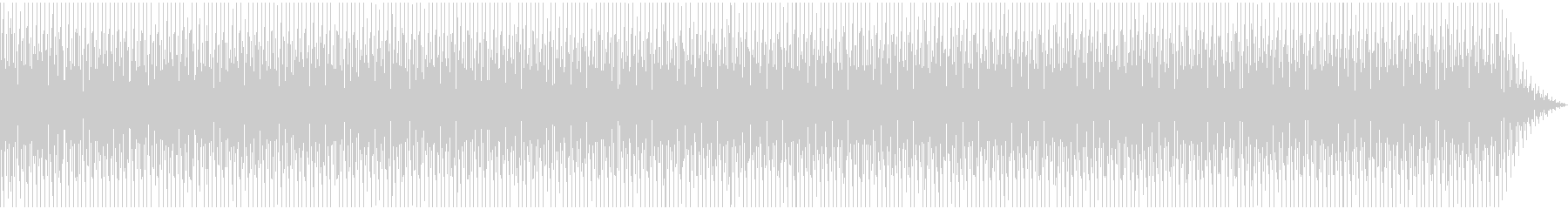 シンプルでオシャレなクラップとストンプの未再生の波形