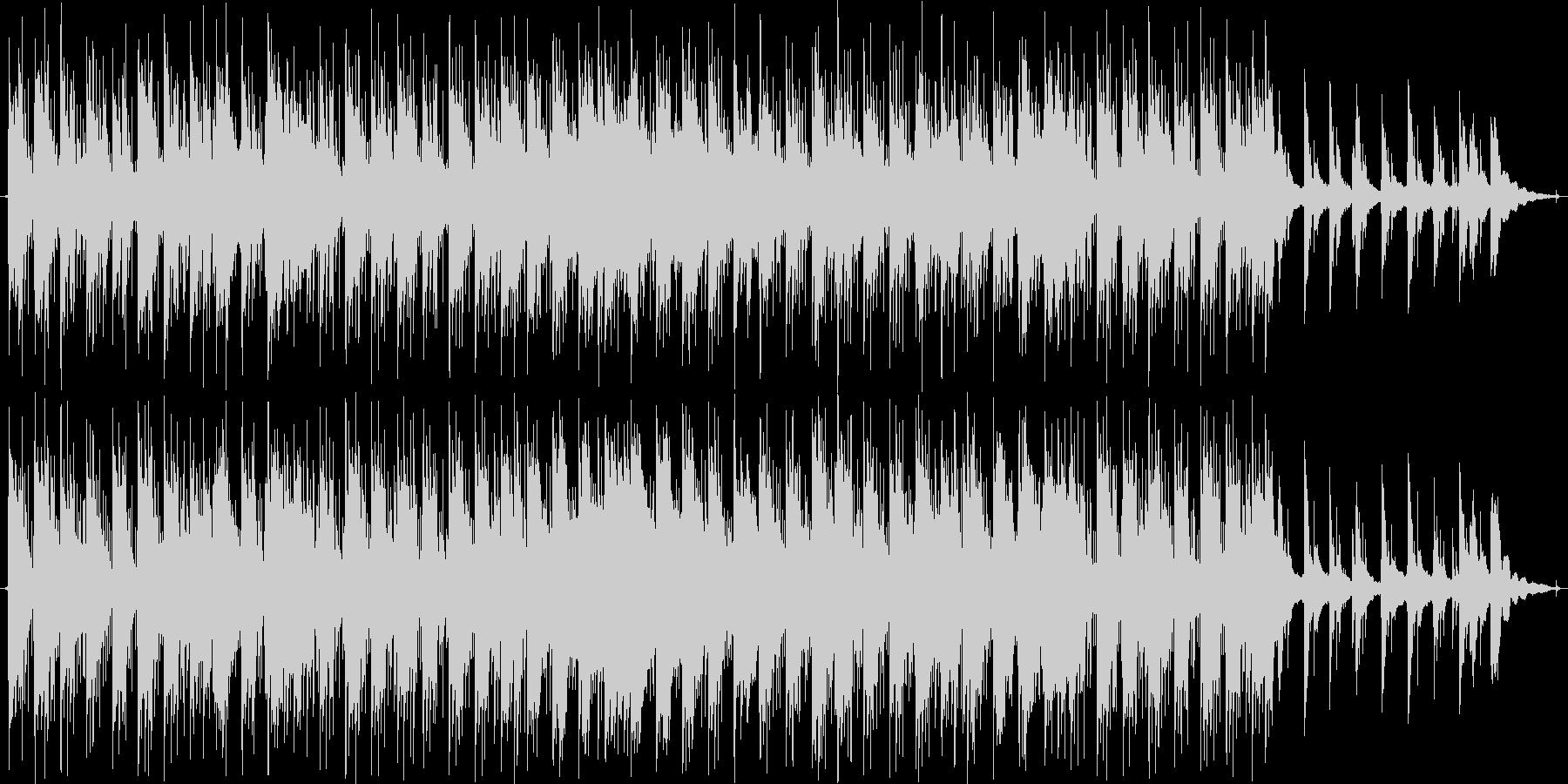 ピアノをメインにした小曲です。の未再生の波形