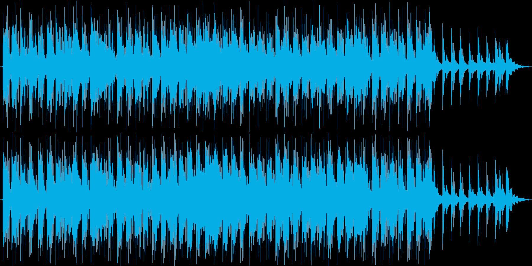 ピアノをメインにした小曲です。の再生済みの波形
