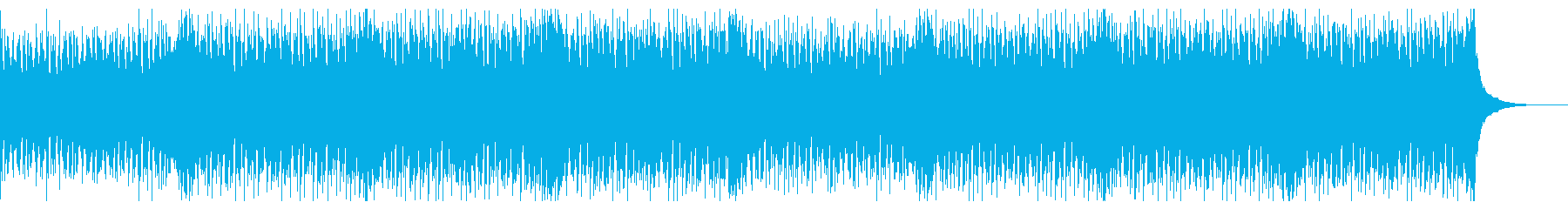 夏を感じる洋楽系トロピカルハウスの再生済みの波形