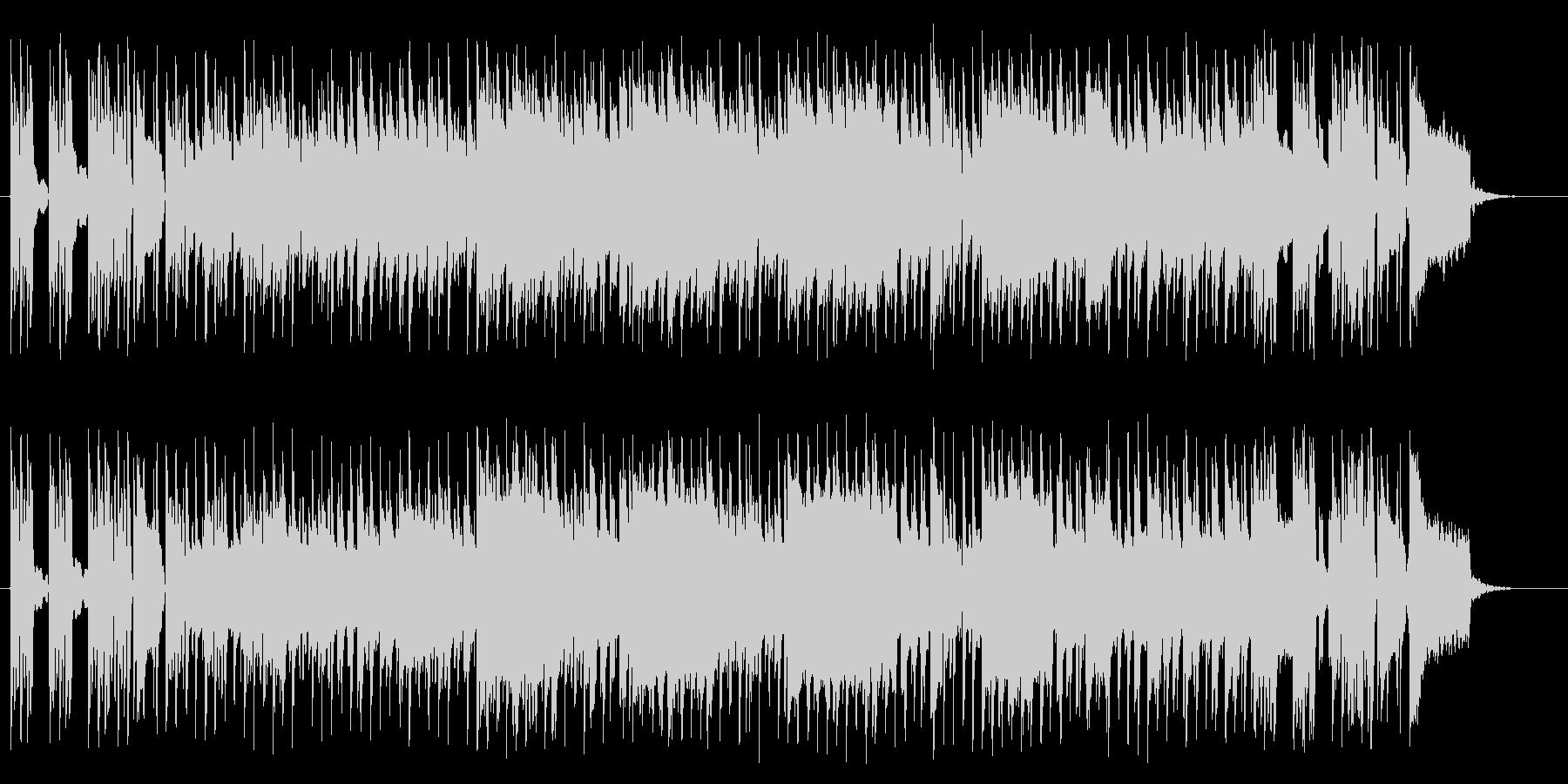 リズミカルで華麗なピアノサウンドの未再生の波形