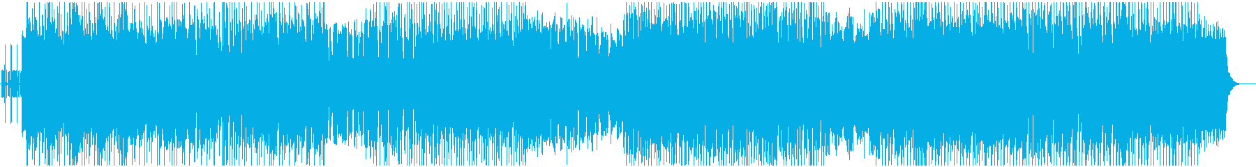 軽やかな女性ボーカルエレクトロポップスの再生済みの波形
