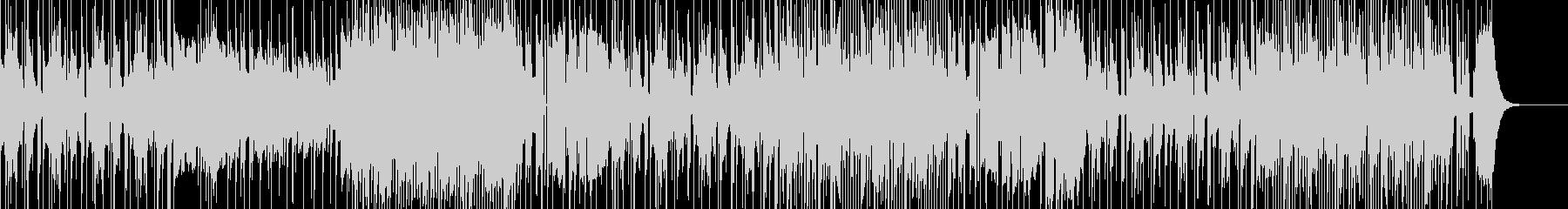 熱帯夜をのり切るメタルなファンク・ロックの未再生の波形
